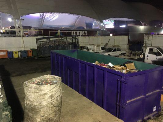 Recolectan 46 toneladas de residuos reciclables