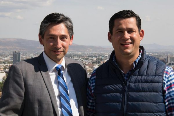 Se integra Juan Aguilera a equipo de Diego Sinhué