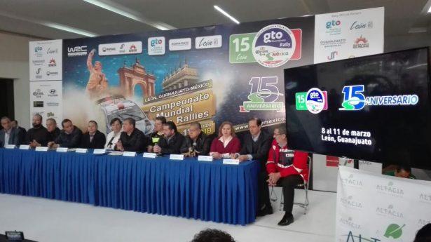 Gobernador del Estado presenta la edición 15 del Rally Guanajuato