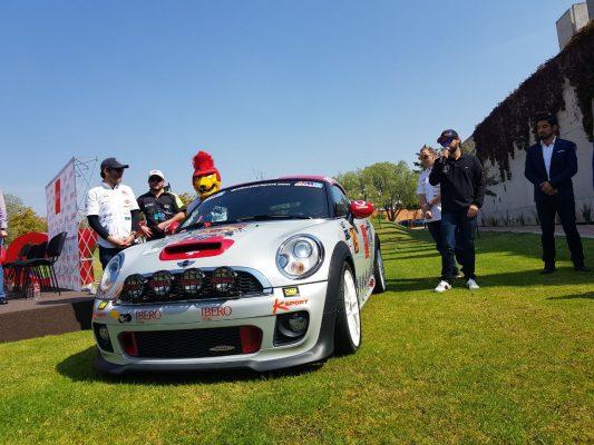 Estudiante desarrolla proyecto para convertirse en piloto de rally
