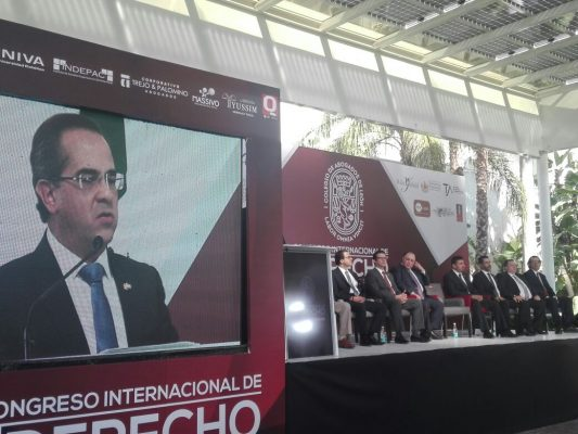 Inauguran Primer Congreso Internacional de Derecho