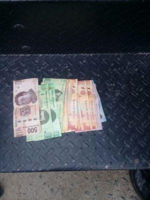 Amagan con arma de juguete a cobrador de funeraria y le quitan 1 mil 800 pesos