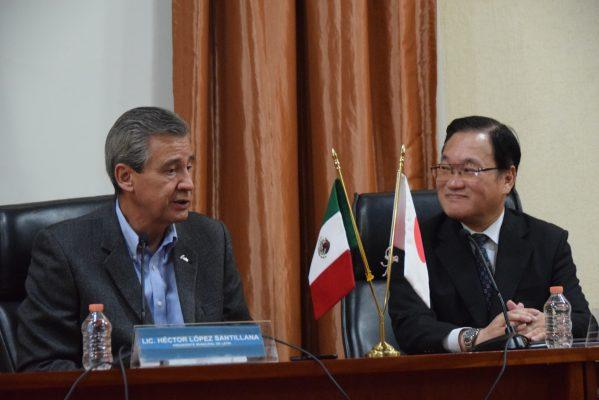 Pide Cónsul de Japón en León al Alcalde mayor apoyo en materia de seguridad