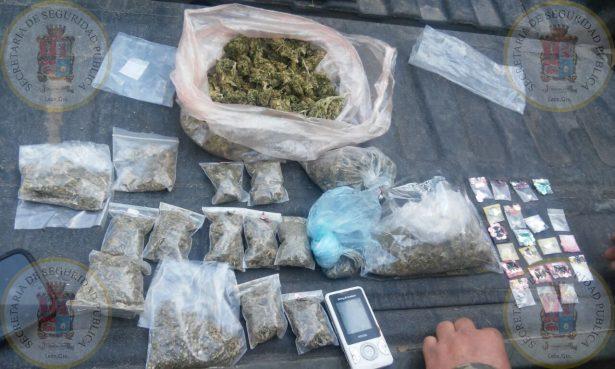 Liberan a detenido con droga