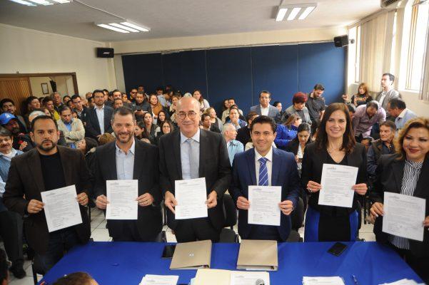 Ramírez Barba se registra como precandidato por una diputación federal