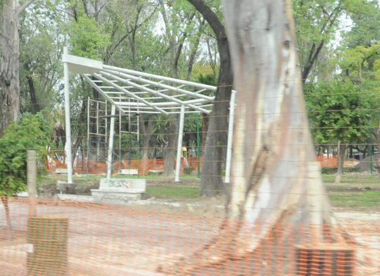 Por concluir segunda etapa en Parque Hidalgo
