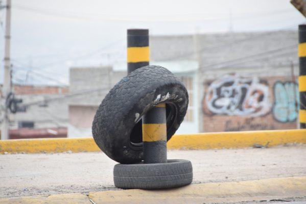 'Ahogan' llantas a Guanajuato