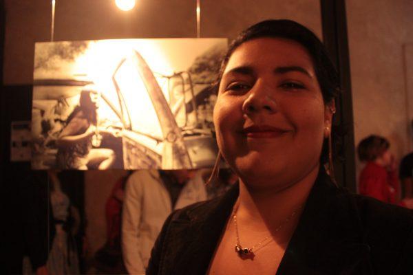 Daniela muestra en fotografías el trabajo y su tributo a las mujeres en la lucha libre