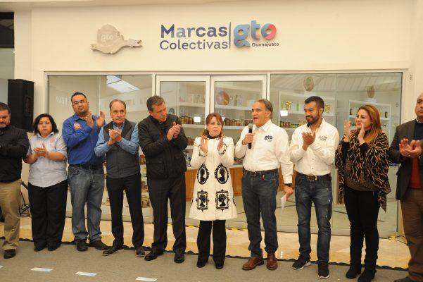 Inaugura Gobernador punto de venta de las Marcas Colectivas Guanajuato