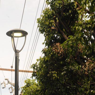 Primera etapa de luminarias en el municipio sigue sin concluirse