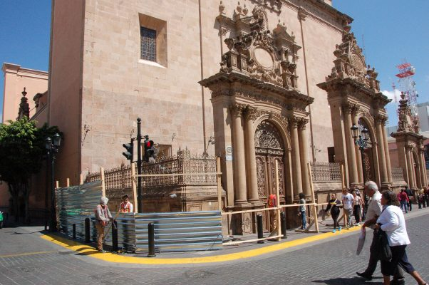 Comienza la restauración de la Catedral