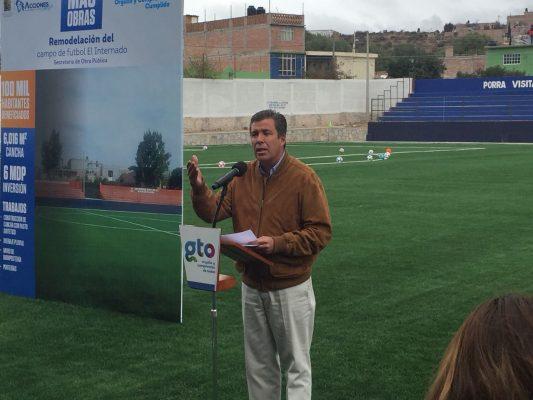 """Renuevan """"El Internado"""" Infraestructura deportiva de calidad para San Luis de la Paz"""