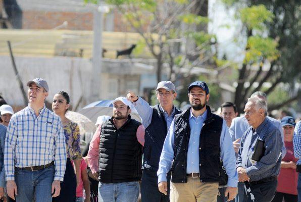 Supervisa Alcalde obras hidráulicas en la Jacinto López