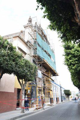 Comienza la segunda etapa de rehabilitación del Templo Los Ángeles