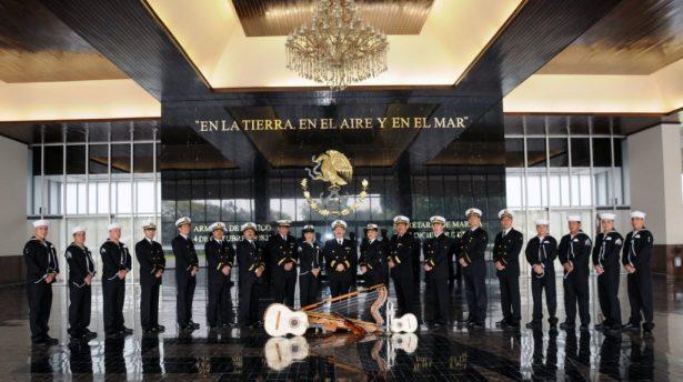 Marina Armada de México prepara concierto en la Calzada de las Artes
