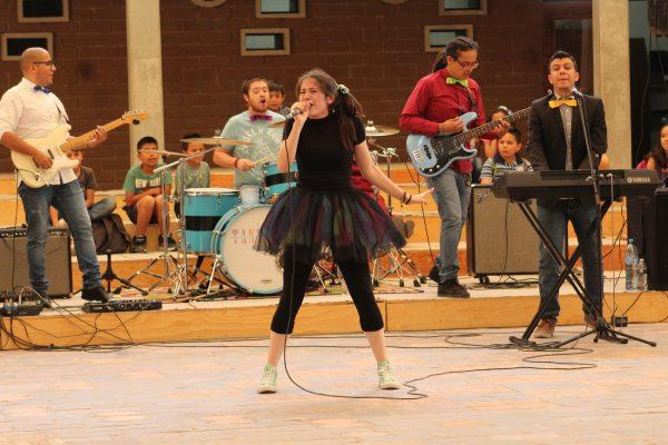 La orquesta Imagina es espectadora de concierto cultural