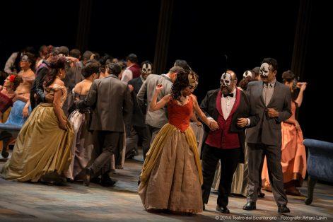 La Traviata © 2014 Teatro del Bicentenario - Fotógrafo Arturo Lavín