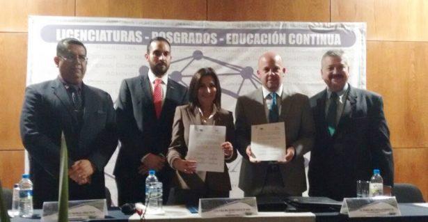 Celebran convenio de colaboración Condusef y EPCA