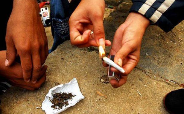 Entran niños a vicios y drogas