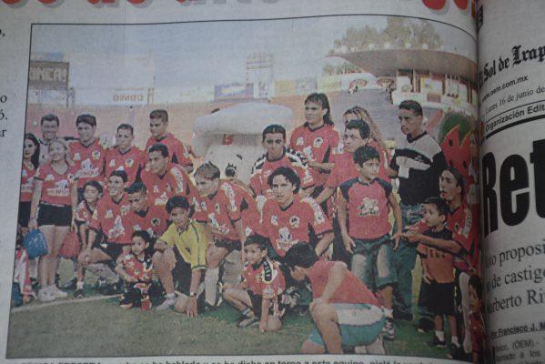 Irapuato Campeones 2003 vs Leyendas de Guadalajara