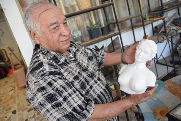 Ildefonso Loera; creador de varias obras de la ciudad