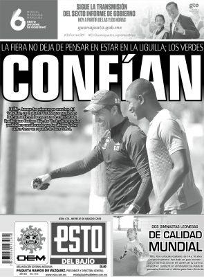 Edición digital ESTO del Bajío – jueves 01 | marzo | 2018