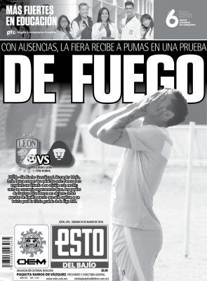 Edición digital ESTO del Bajío – Sábado 03 | marzo | 2018