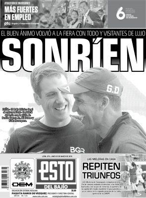Edición digital ESTO del Bajío – lunes 05   marzo   2018