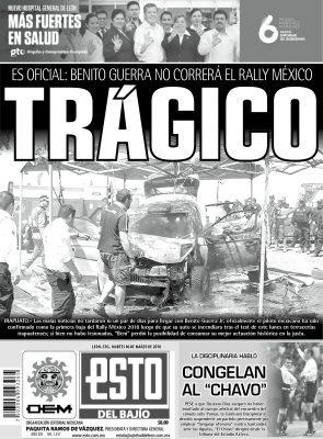 Edición digital ESTO del Bajío – martes 06 | marzo | 2018