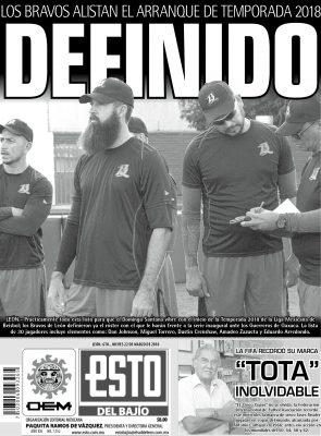 Edición digital ESTO del Bajío – jueves 22 | marzo | 2018