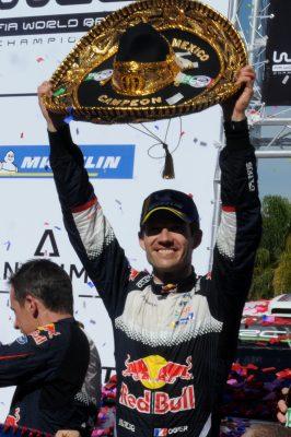 Premio a la perseverancia; con su triunfo en México, Ogier es líder del WRC