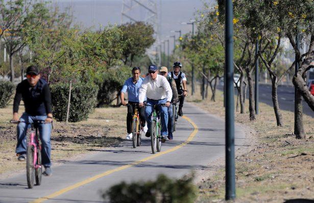 Supervisa Alcalde red de ciclovías