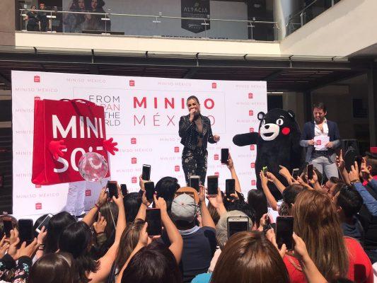 La cantante María José es embajadora de tienda japonesa en León