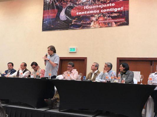 Hasta el momento está firme la candidatura de Antares Vázquez