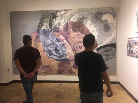"""""""Rostros y expresiones"""" de Oliver Esquivel"""