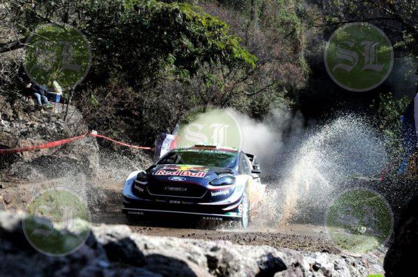 El actual campeón del Rally México fue el más veloz durante el Shakedown