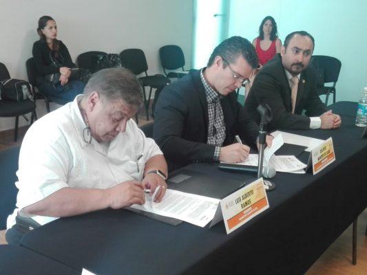Firman convenio de colaboración Procuraduría de los Derechos Humanos y OCL