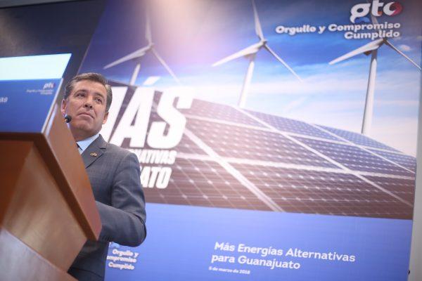 Guanajuato, con más de 2 mil millones de dólares en inversiones de empresas generadoras de energías renovables