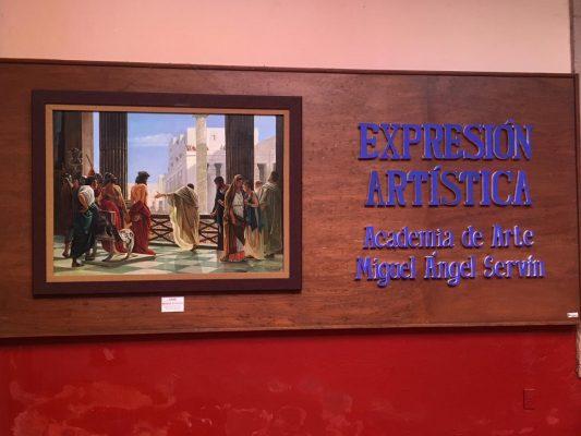 """Exhiben  """"Expresión artística""""  en el Archivo Histórico Municipal de León"""