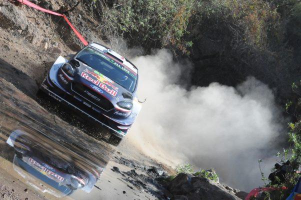 Sebastien Ogier, campeón del Rally México 2018