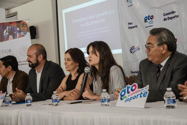 La Conapred capacitó al personal de CODE Guanajuato contra la discriminación