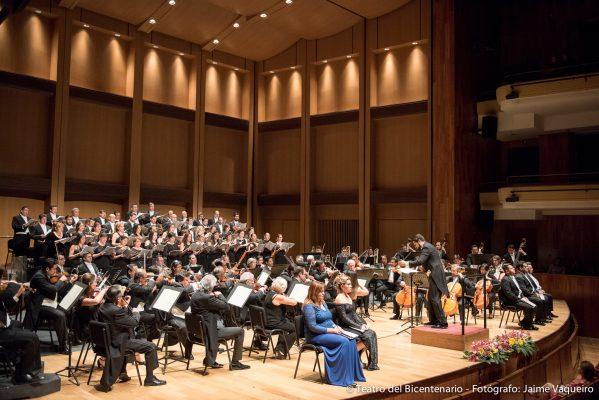 Se vivió experiencia religiosa en teatro del Bicentenario con Misa no. 6 de Schubert