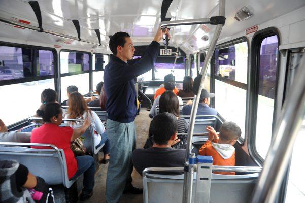 Buscan detectar problemas en el transporte público