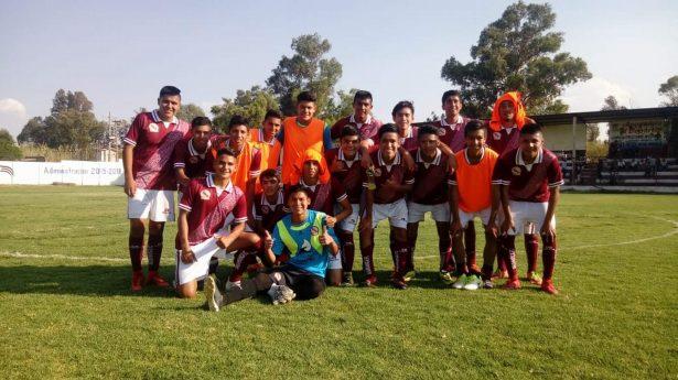 Los guindas vencieron al FC Iguana sin problema alguno
