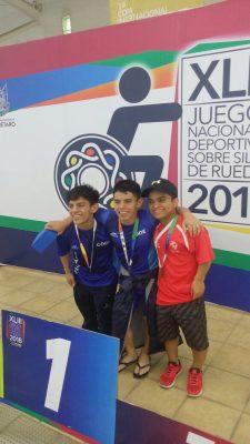 Los hermanos Gutiérrez subieron al podio este domingo