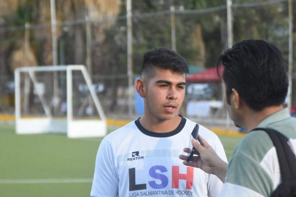 El hockista salmantino Erick González sueña con Buenos Aires 2018