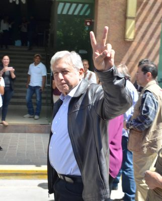 López Obrador vista hoy el estado