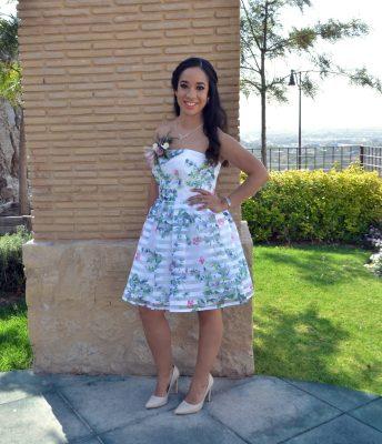 Karina Flores rumbo al altar
