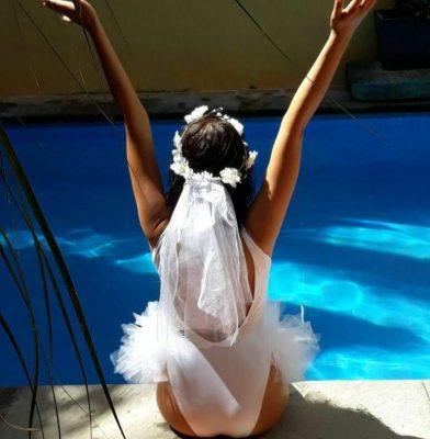 Refrescante y divertida despedida  de soltera para Tania Gutiérrez