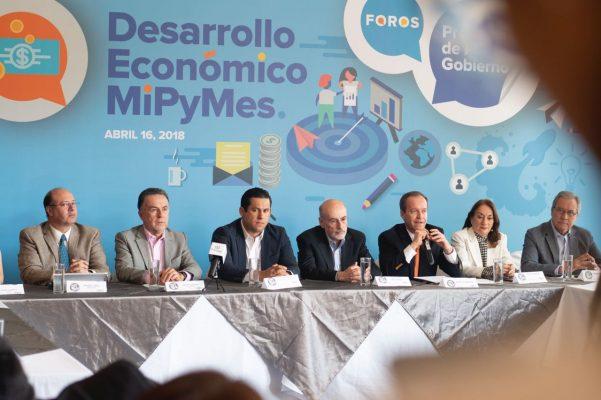 Presenta Diego plan de apoyo a  MiPyMes